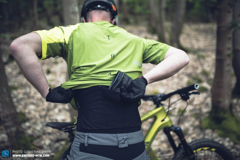 There are a host of new products that allow you to distribute weight better on your body and bike.