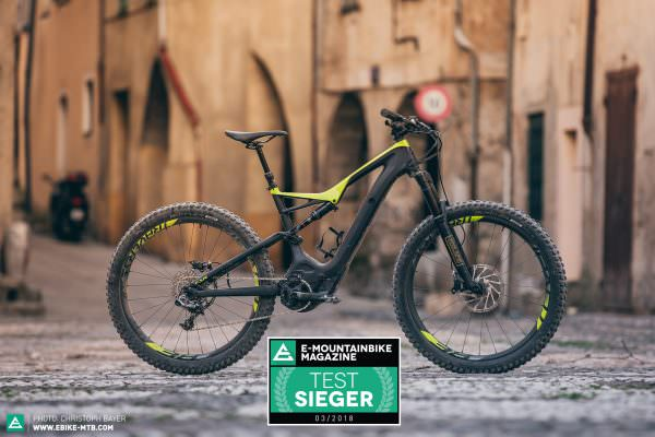 das beste e mountainbike 2018 zw lf traumbikes im test. Black Bedroom Furniture Sets. Home Design Ideas