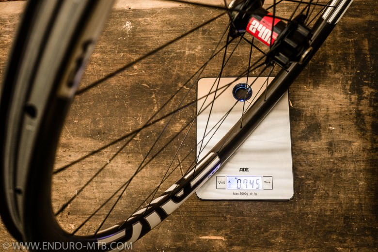 Review Test weight Enve composites TWENTY9 AM 29 AM