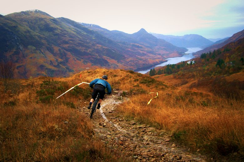 Tough trails in one of the most beautiful places in the UK! (Photo by Raymond Clarke)