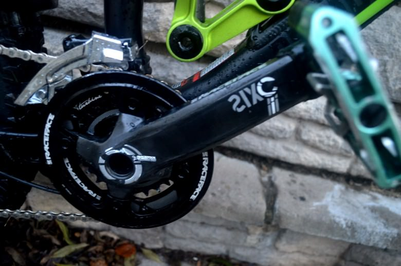 Twin ring with the trick carbon cranks!