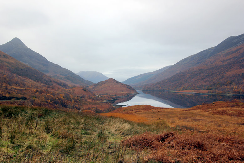 The morning of the race, Kinlochleven is one of the most beautiful places in the UK!