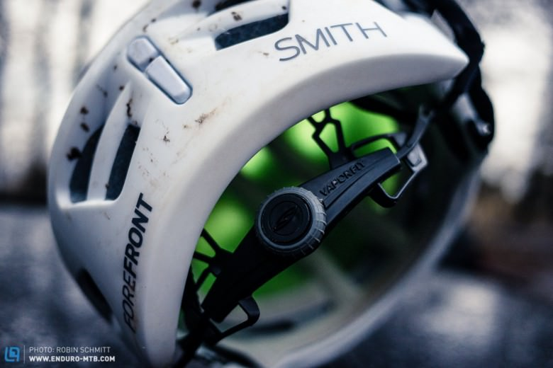 ... an additional helmet goggle retention strap.