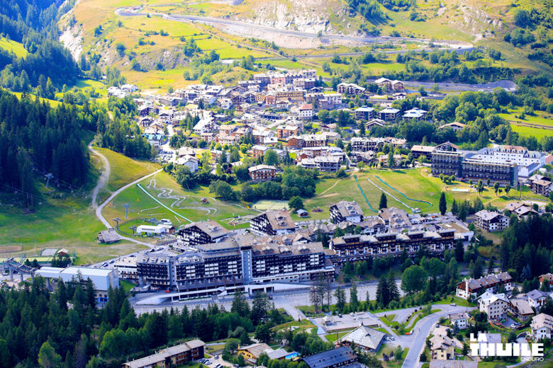 LaThuile village from above