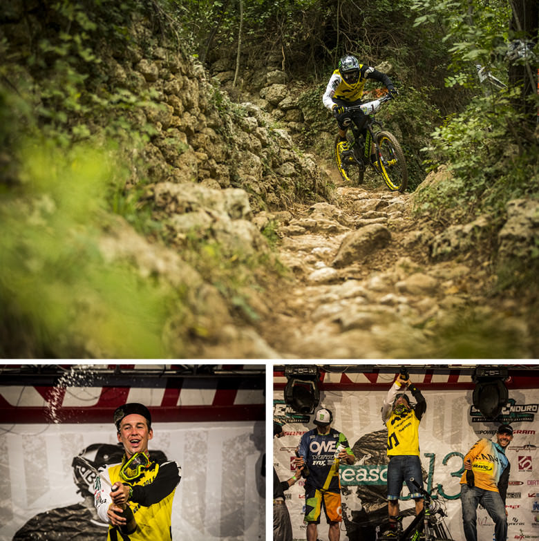 Jerome Clementz becomes the first ever Enduro World Series Champion in 2013