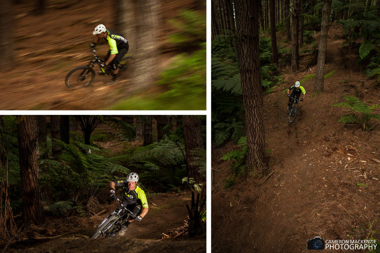 You can choose from 7 trails, offering 440m descent