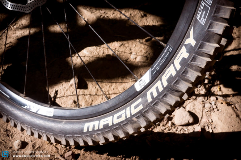 No difference from the outside, big difference inside: new Schwalbe tires with two chamber system