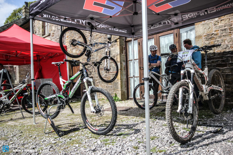 Empire Cycles were on hand displaying their innovative 3D printed bike!