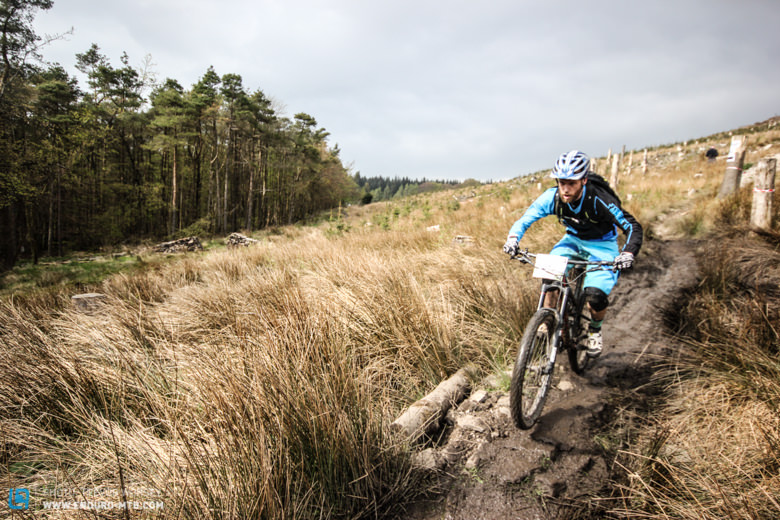 The sun came out during the day and kept the mud down!