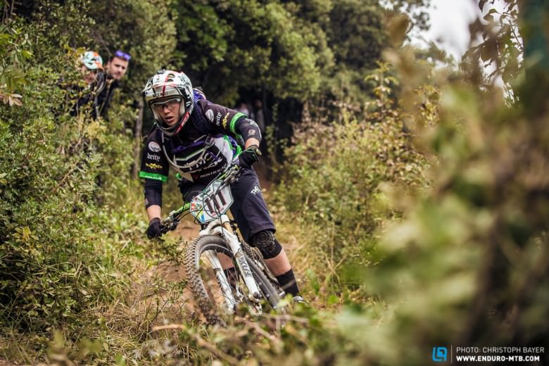 Compromising doesn't win the Enduro World Series does it? No. So maybe that's why Tracy Moseley is riding a unisex Trek Remedy