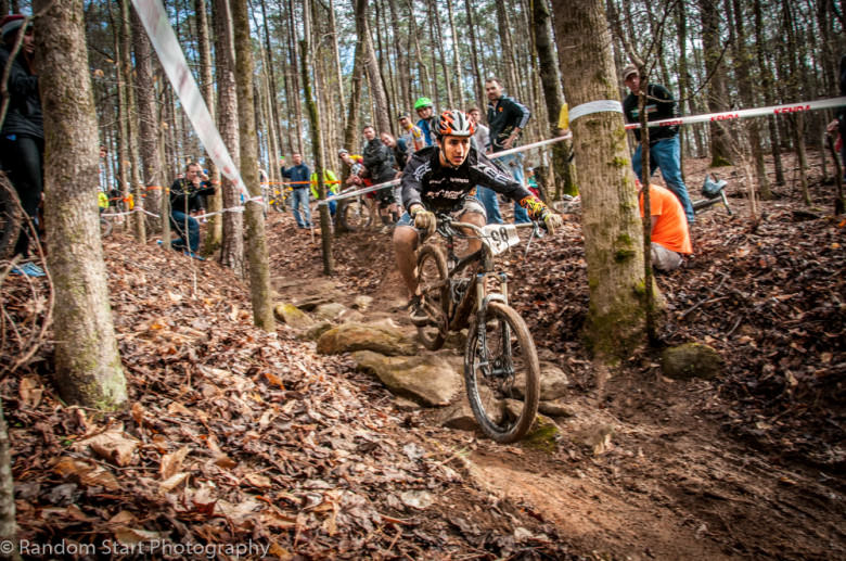 #Relaxed. Mateo Ortegon (Evolution Bike Co.) knows the Big Creek trails well, and his efforts throughout the day scored him the top spot in Junior Men.