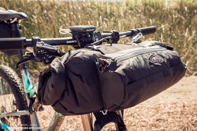 Front and rear mounted cargo bikes help you get your gear out there.