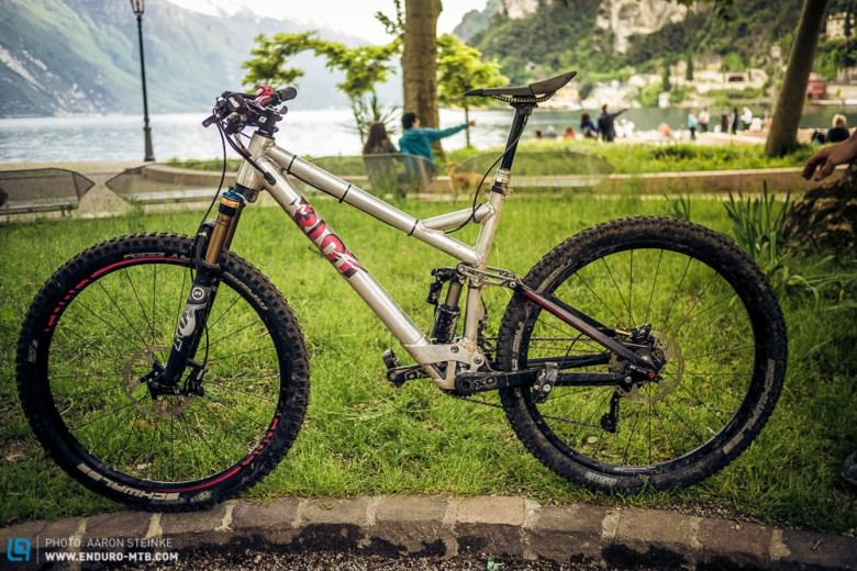 Exclusive: Ghost prototype with 150 mm RIOT-Link suspension | ENDURO ...