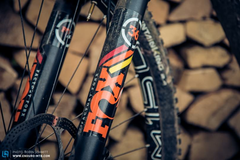 First Look: The Fox 36 Float Factory RC2 2015 in Detail