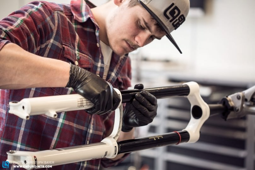 How to service the Lower Leg on a RockShox Pike | ENDURO