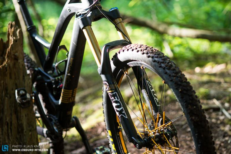 The new FOX 34 Talas FIT CTD 27.5 in our Mondraker Foxy longterm testbike