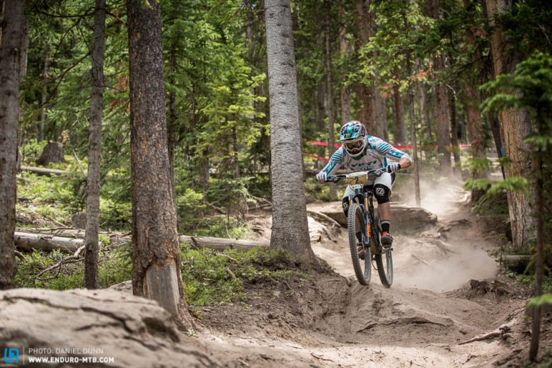 Graves entered the final stage of the day with a 40 second time gap over teammate Richie Rude and rest of the field, and therefore rode just a bit conservatively on Stage 7. He still was 20th on that stage.