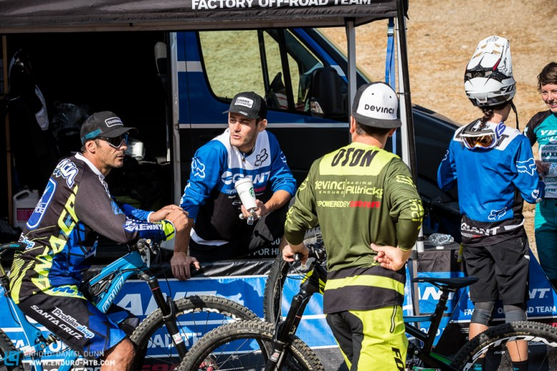Some French riders making plans to hit the Apple store in  Denver on Monday.