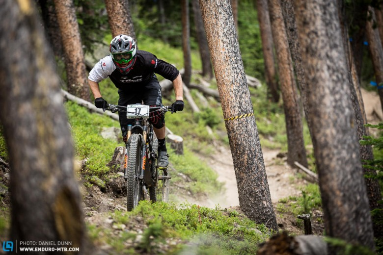 Justin Leov had a steady and fast weekend of riding to find himself in 5th place.