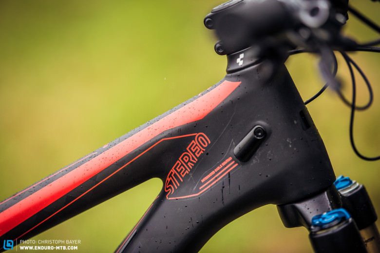 The geometry of the new bike is unchanged with a 67.5 degree head angle.