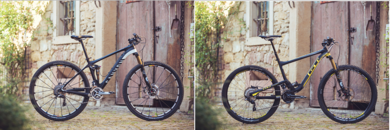 Canyon Lux CF 9.9 SL & GT Helion CRB Team