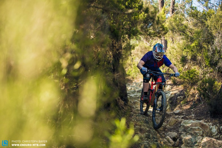 One of the EWS stages in Finale was the ultimate test for the high-end racebikes