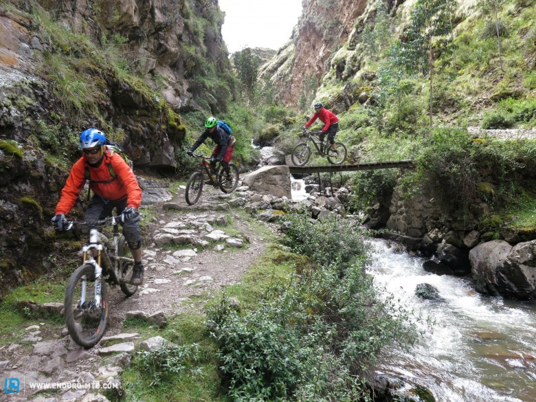 If you've looking for smooth trails, keep searching! These ancient trails are wild!