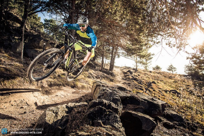 Riding the awesome trails was part of the DI.A 2015 congress too