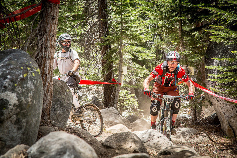 Big mountain venues like China Peak's VP EnduroFest offer all-mountain riding enthusiasts like James Bradley ideal conditions in which to challenge themselves. James charged his way to 2nd place Sport Men 50+ at the EnduroFest as well as 2nd in the series overall (Called To Creation).