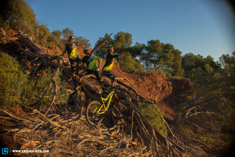 Whatever they are doing, it looks like the new COMMENCAL team has quite some fun!