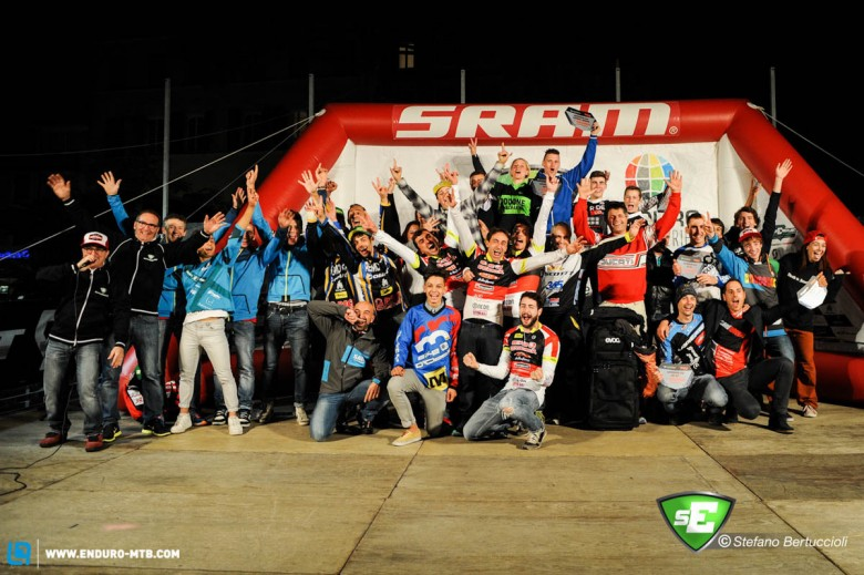 The last podium of the year, with all 2014 winners.