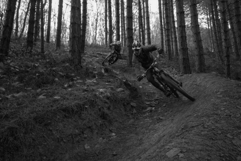 Peaty with Josh in pursuit