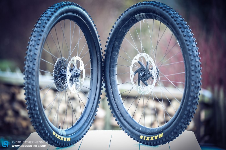 The Ibis 741 wheelset redefines wide, with a 35mm internal and 45mm external width