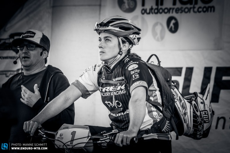 Going into the final day of EWS Finale, there could be no hiding the pressure