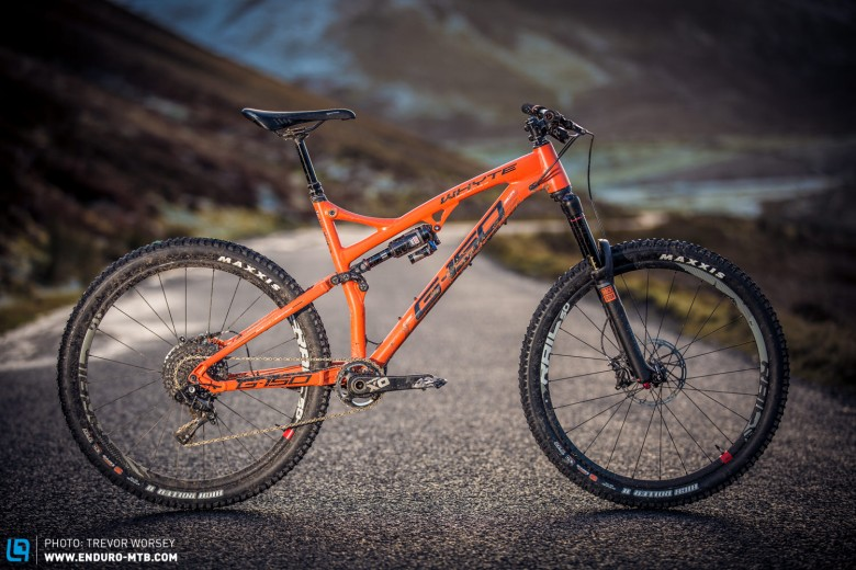 The Whyte G-150 delivers impressive performance for £3999