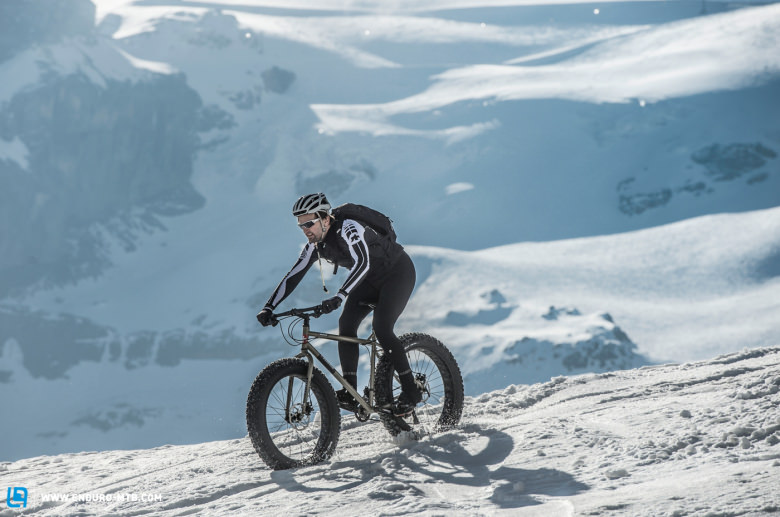 Snow Epic: the world's first fatbike race on snow