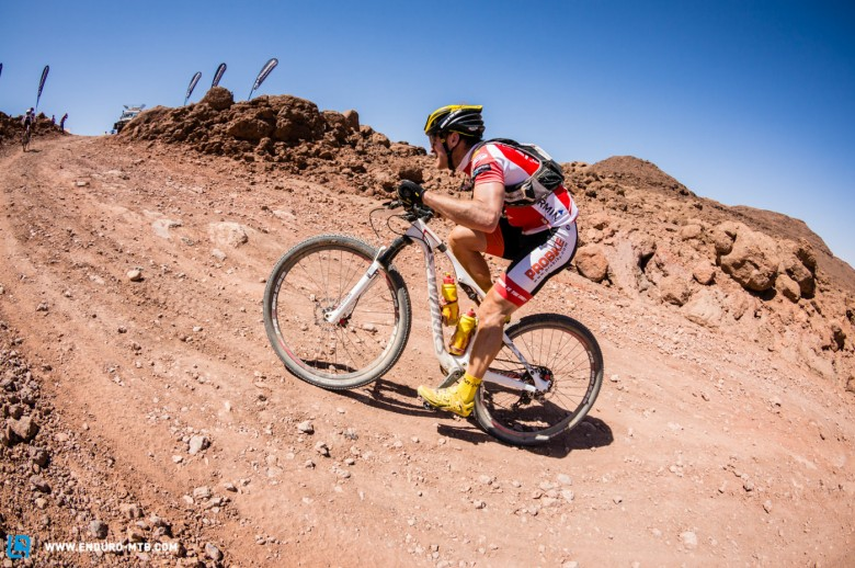 Racing in the desert can be grueling...