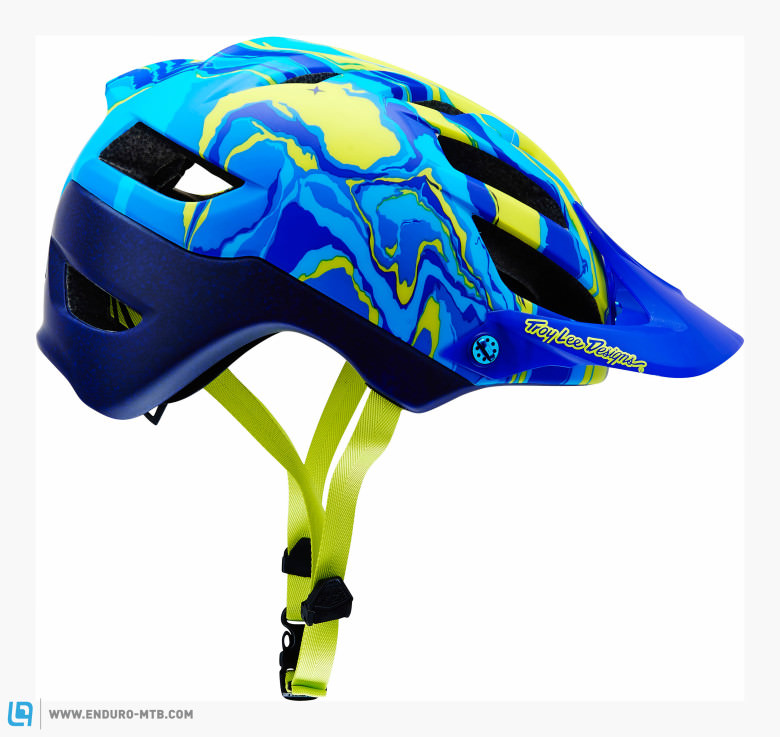 You will definitely stand out in the crowd rocking this helmet.