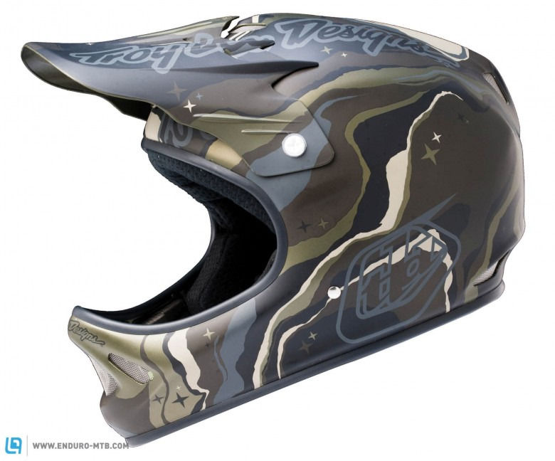 You can opt for a matte camouflage if you want to sneak up on your friends at the bike park.