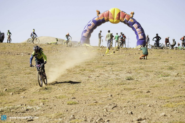 The day 2 stages were flat out high speed.