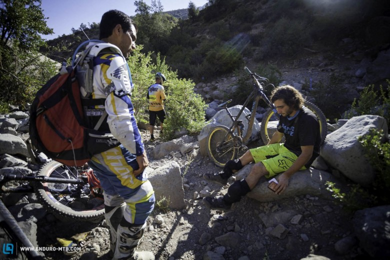 The bad news of the day was the crash of Nico Prudencio that left him with a knee injury that forced him to retire.