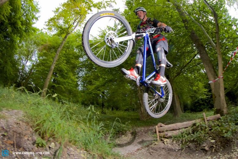 This is gravity racing, NOT XC.