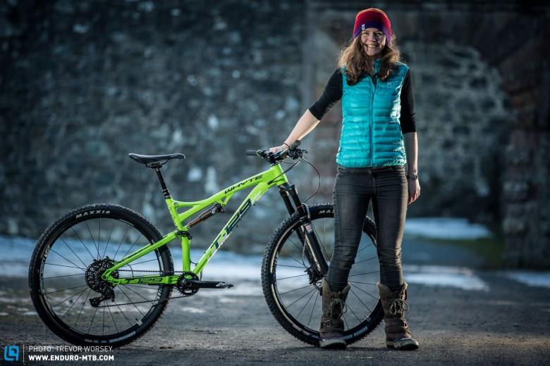Cat Smith is stoked with her new marathon/trail ride for the season