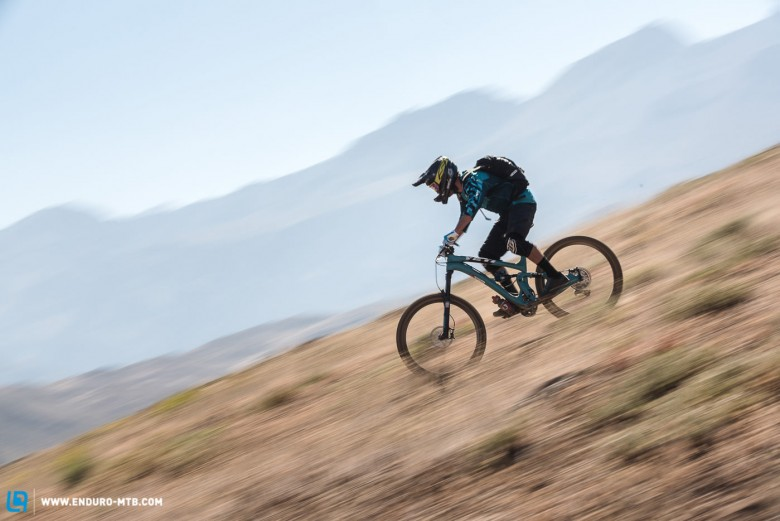 Nate HIlls was in the running after Day 2 but would loose 10 minutes on the final stage of Day 3 due to a front flat