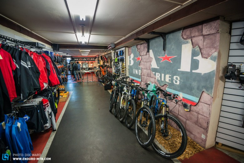 A lot of thought has gone into this shop, the meeting point to many a local ride