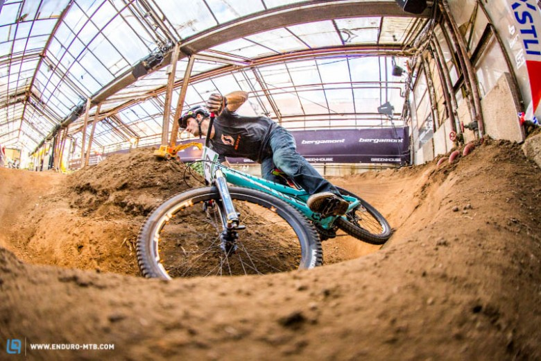 Pump tracks are a great way to develop cornering technique and power.