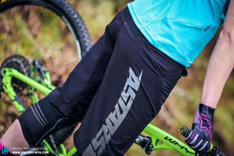The Hyperlight shorts feature vented open mesh inserts across the thighs  to enhance airflow.