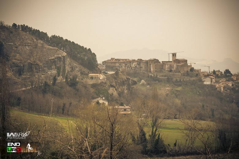 """Talamello town in the south Emilia Romagna, home of """"Fossa cheese"""", an amazing tipical italian cheese"""