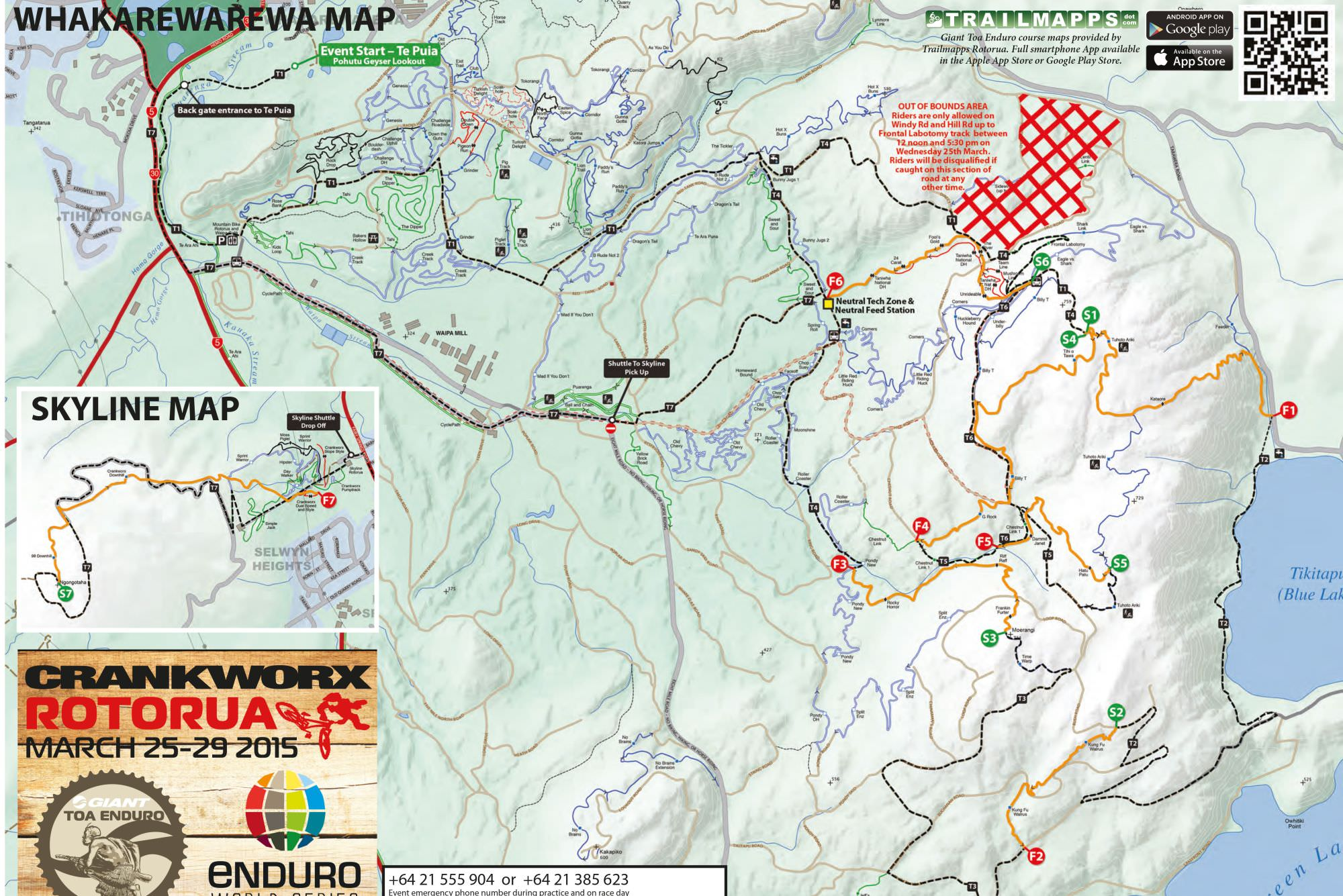 Giant Toa Enduro Releases Course Map for the first EWS Race of 2015