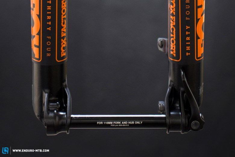 THIS IS BIG NEWS! We have a new fork standard 15mm x 110mm
